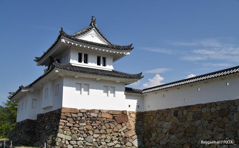 丹後田辺城二層櫓(京都府舞鶴市)
